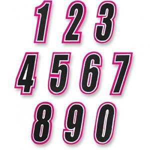 American kargo number pink/black #3 – 3550-0250 – American kargo 35500250