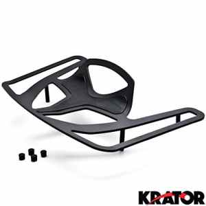 Krator® Porte-bagage Noir Cargo Voyage Rack pour les modèles Honda Goldwing Gl18002001–2016Porte-bagage Noir Cargo Voyage Coffre de montage en rack