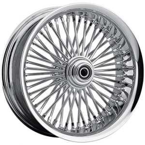 Rear wheel 50 spoke radial 18″x5.5″ chrome – 048… – Drag specialties 02040432