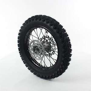 Roue complete arriere acier avec pneu guangli noire 14″ – ø15