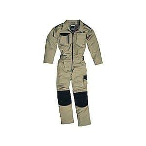 Delta Plus Combinaison de travail Mach Spirit coton en Polyester Beige/Noir ta. -L