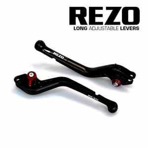 REZO V2 Longue Noir Ajustable CNC Moto Leviers Pour Honda CBF 1000/F/ABS/FABS 10-13, CB 1100 13-16