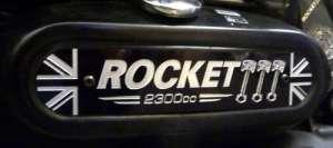 Triumph Rocket Iii Classic Roadster Touring Façade ölbehälter Aluminium