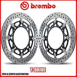 208a98511Paire de disques de frein bREMBO t-drive Ducati Monster S4RS 1000cc 20062007Ø320
