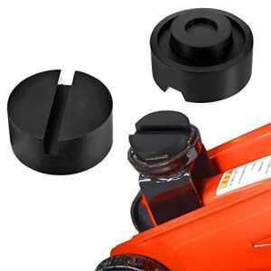 Bloc en caoutchouc , Mopalwin Cric de levage pour Cric Tampon Cric Hydraulique 65mm X 25mm, tampon de caoutchouc Hydraulique Solide Résistant Protéger