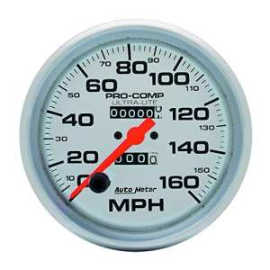 Auto Meter 4495 Ultra-Lite In-Dash Mechanical Speedometer by Auto Meter