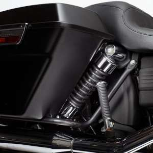 Cycle Visions Bagger-Tail Kit for Dyna – Black Bag Mounts CV7400B by CycleVisions