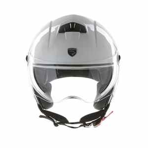 Panthera casque moto demi jet City blanc brillant taille M