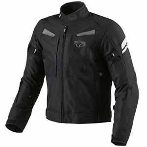 JET Blouson moto imperméable avec armure veste moto multi fonctionnel textile noir