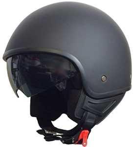 Rallox Helmets – Casque De Moto Jet Noir Mat Rallox 074 ( Xs S M L Xl ) Taille M