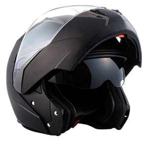 SOXON SF-99 Matt Black · Helmet Scooter Moto Integral Casque Modular Urban Cruiser Flip-Up Mofa · ECE certifiés · deux visières inclus · y compris le sac de casque · Noir · L (59-60cm)