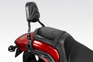Yamaha XVS 13002014–schienalino–Sissy Bar en acier de facile Installation–Accessoires de Pretto moto–100% Made in Italy
