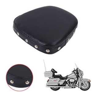 Aochuang universel Moto Sissy Bar dossier Coussin Pad pour Harley Choppers Cruiser Suzuki Yamaha Honda Kawasaki