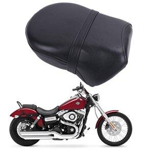 Confort Arrière Passager Coussin Selle Housse Siège pour Harley Sportster Iron 883 Sportster 883 1200 2007-2015