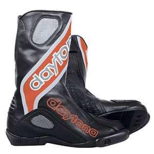 Daytona Evo Sports GTX Homme racing Bottes de moto cuir–Noir Rouge