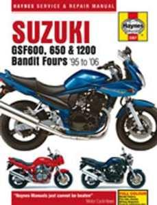 Haynes 3367Suzukiuki Gsf600; 650et 1200Bandit fours 95–06