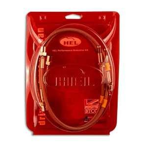 HEL Performance tressée lignes de frein pour Ford Focus Mk11.8Tddi arrière tambours (2001–2005)