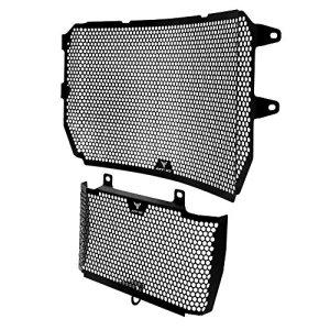 MT10 Accessoires Moto en Acier Inoxydable Grille de Protection Grille de Radiateur & Kit de garde d'huile pour Yamaha MT-10 MT 10 2016 2017
