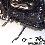 Repose-pieds Anlage 11,19,27cm anticipative pour Triumph Rocket Iii avec ABS avec ABE