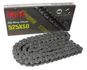 RK Racing Chaîne X-ring Chaîne avec Connecting Link