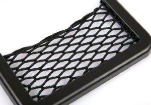 Aokdis Useful Universal Car Seat Side Back Storage Net Bag Phone Holder Pocket Organizer Black by ACE