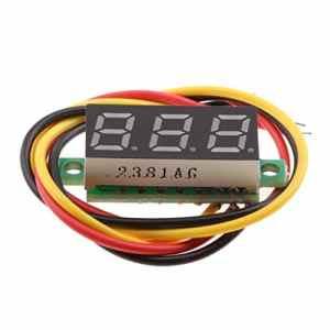 Homyl Numérique Voltmètre Testeur de Tension Panneau LED Tension D'affichage – vert