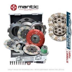 Mantic Track Premium kit d'embrayage–Mantic Aluminium billet Cover Assembly   Twin Cerametallic d'embrayage avec à partir de matériau de friction fabriqué en Allemagne   Release Roulement   billet usiné solide de masse volant d'inertie (SMF) avec boulons kit   Embrayage alignement Outil (M921201)