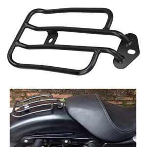 Ambiente Noir Moto Porte-bagages Solo Siège plaqué or bagages Étagère pour Harley Sportster XL 883120077–007377–0073de B