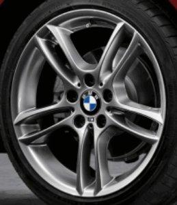 BMW 36 11 7 842 607 Roue avant 7,5J x 18″ à double rayon 261 en alliage de fer Gris