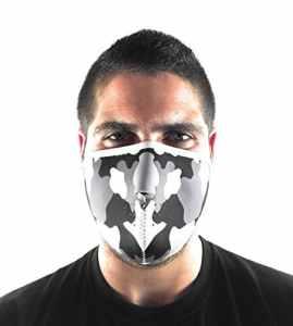 Kenrod Masque facial en néoprène pour® Conception Unique et protecteur unica Camouflage gris