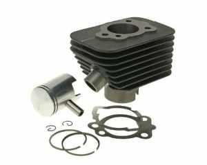 Kit cylindre 50ccm pour Piaggio, Vespa Ciao Si avec 10mm Axe de piston