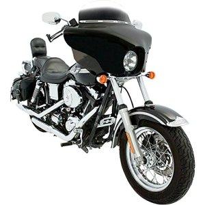 Memphis pour Harley Batwing SHIN YO couleurs Dyna FXWG XL FXST y compris Kit de fixation rapide & écran