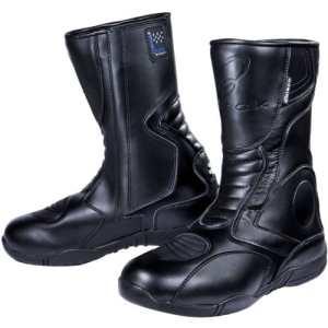 Black Stealth Bottes étanches pour motards Noir Noir EU42 (UK8)