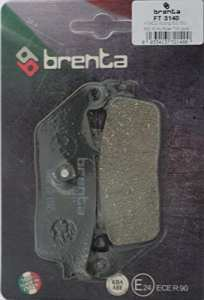 Brenta Plaquettes de Frein organiques moto pour kymco xciting 400 i, Xciting 500, My Road 700