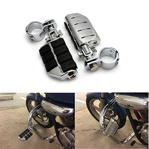 'Get Moto 1.25â 32â mm Repose-pieds réglable pied est Highway boutons pour Softail Dyna-Sportster Electra Road Sport Glide