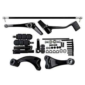Noir avant les leviers de pinces leviers pour Harley Sportster 883Xl883fer Xl883N Custom Xl883C Super Low Xl883l Xl883r