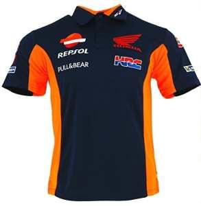 Pritelli 1818501/XXL Honda Repsol Moto GP Teamwear Réplique Polo Chemise Officielle 2018, Bleu
