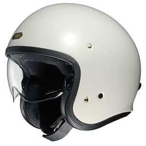 Shoei J.O. hors casque moto blanc