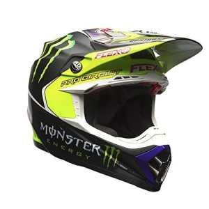 7084379 – Bell Moto-9 Flex Monster Pro Circuit 17 Motocross Helmet S Black Green