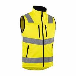 blåkläder Workwear Hi-Vis Gilet softshell, jaune, 67-30492517-3300-4XL