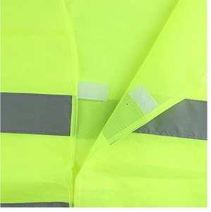 HHg Gilet fluorescent réfléchissant Vêtements de sécurité extérieure