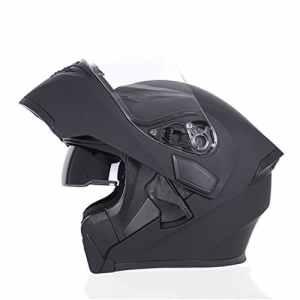 JIEKAI double lentille casque modulaire casque de moto Flip Up casque de moto pour motocross Racing