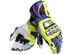 Dainese Gants moto Full Metal 6 Replica VR46 Jaune Fluo