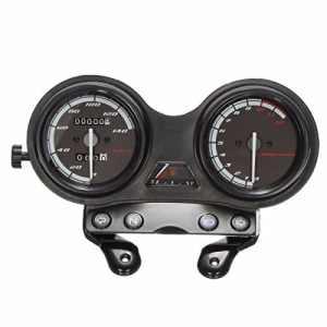 ETbotu DC 12V Moto Complet horloges Compteur de Vitesse pour Yamaha Ybr 125