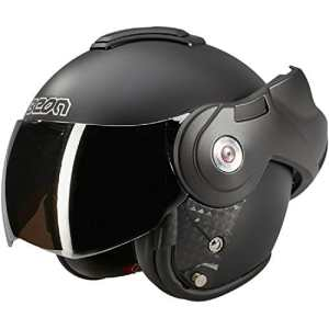 Beon B702 Reverse Noir mat Casque à visière – Casque moto – XXL