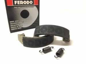 Mâchoires de frein arrière pour Honda de Pa 50Camino (1989), PX PXR 50(1984)