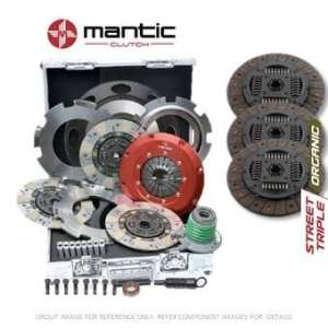 Mantic Track Premium kit d'embrayage Convient GM – Mantic Aluminium billet Cover Assembly | Triple d'embrayage Bio | Release Roulement | billet usiné solide de masse volant d'inertie (SMF) avec boulons kit | Embrayage alignement Outil (M934207)