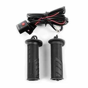 Poignées chauffantes Suzuki V-Strom 1000 KOSO 22mm, noir
