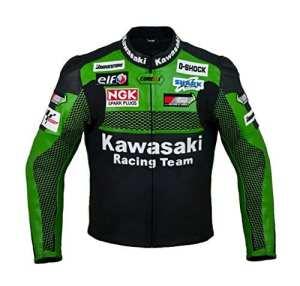 Veste en cuir Kawasaki Racing Team (M (EU50))