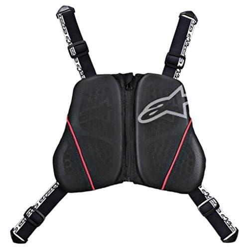 Alpinestar Nucléon kr-c COFFRE Harnais pour arrière protection noir blanc rouge – M/L/XL